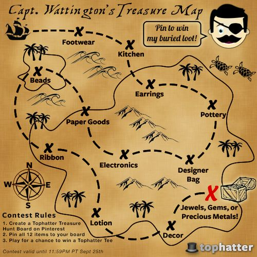 simple treasure maps vintage - photo #21