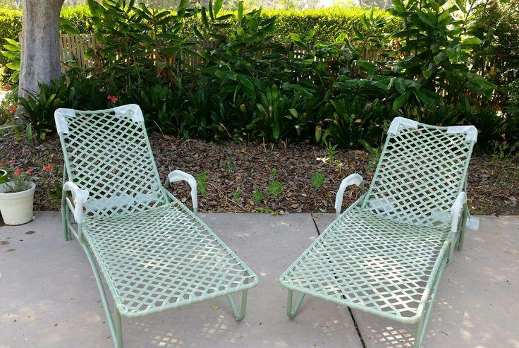 Brown Jordan Tamiami Chaise Lounge, Denver Patio Furniture Repair