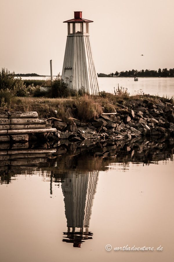 Mirroring - Lake Vanern, Sweden