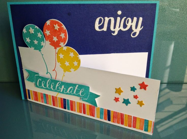 Stamping Craft: Ballon Bash Cut Out Card