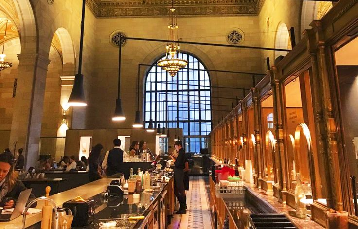 This Beautiful Café In Montreal Use To Be A Bank And You'll Want To Visit