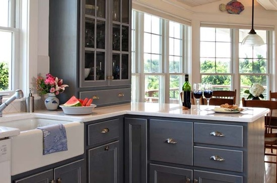 Cape cod style kitchen for the home pinterest for Cape cod style kitchen cabinets