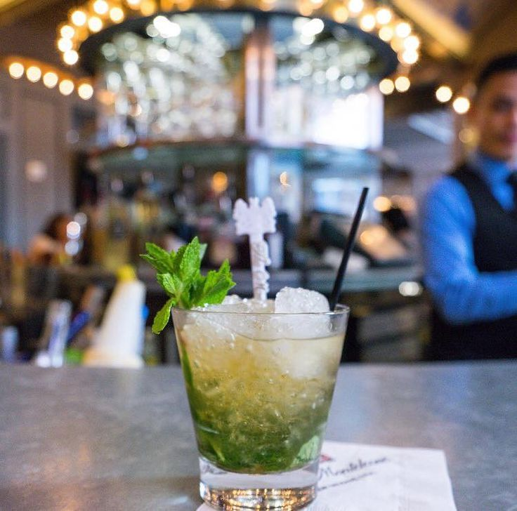 A Pimm's Cup at the Carousel Bar is perfect for sunny afternoons in New Orleans.