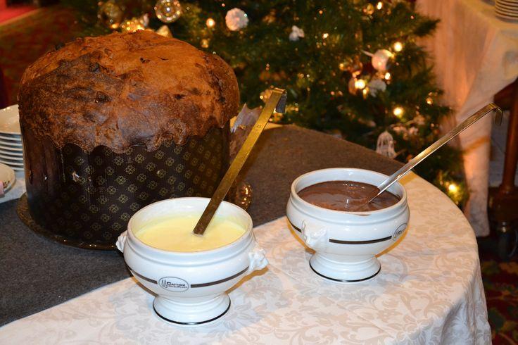 Sempre ottimo il #panettone artigianale al #ComanoCattoniHoliday #Natale  #Natale2015 - www.comanocattoniholiday.it