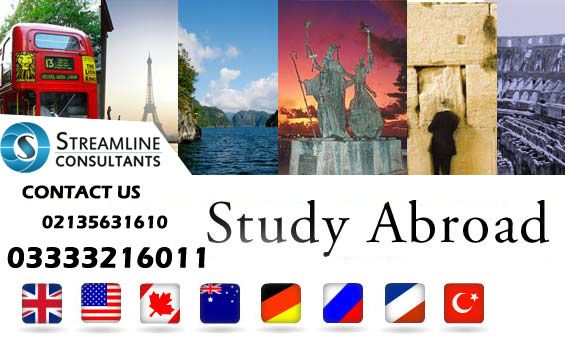 Explore your Study Options in #UnitedKingdom, #Australia, #Canada, #Malaysia, #NewZealand, #China, #Ireland and #Cyprus Make your future bright and get a degree with minimum tuition fee. Complete Application process and visa guidance Visit our office for further assessment. Contact us: 02135631610 / 03333216011/ 03165457645 Email us for your enquiries at info@streamlinevisa.com or visit our website www.streamlinevisa.com for more information #StreamlineConsultants #StreamlineVisaConsultants
