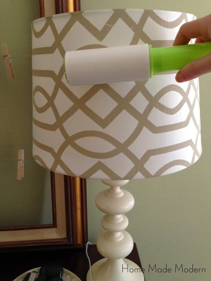 To clean your ceiling fans, wrap a dryer sheet around a clean paint roller and secure with rubber bands. Attach your extension handle and roll across the top and bottom of each fan blade. Use a lint roller to clean lamp shades. (I do this all the time…works so much better than the vacuum...Read More »