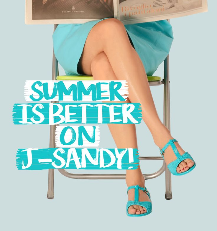 Summer is better on J-SANDY ;)