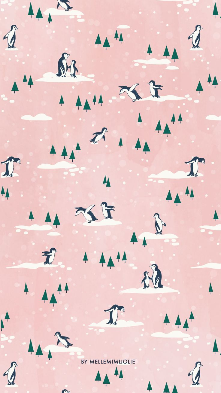 Penguins in pink!
