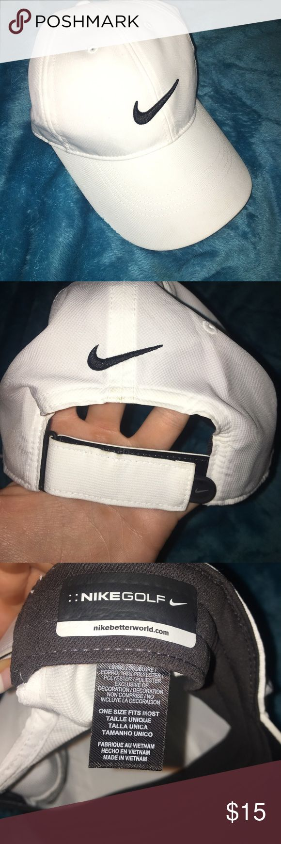 Nike Gold Hat NEW Velcro adjustable back. I never wore this. Not my style. Gold or baseball cap / hat. Nike Accessories Hats