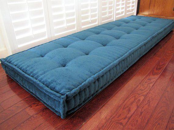 Custom Cushions Teal Blue Velvet