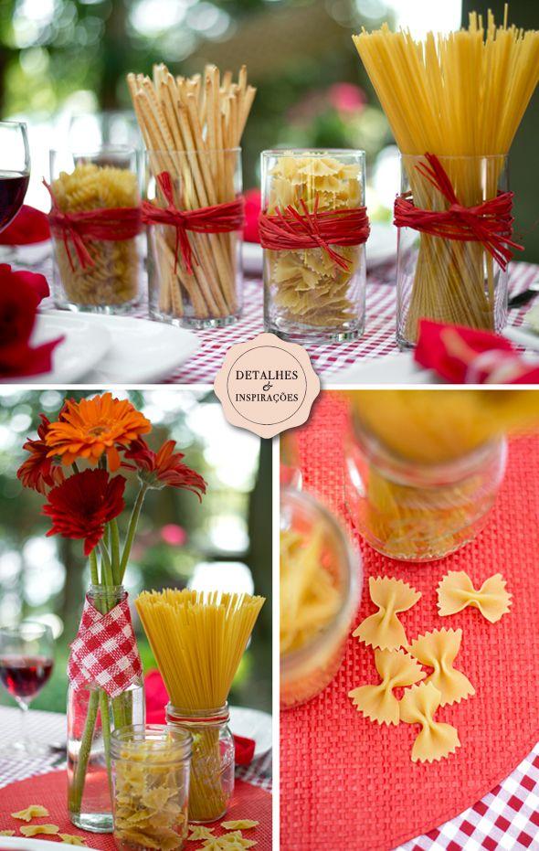 Inspirações | Jantar Italiano | Les Divas