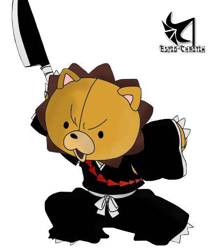 Render Kon Bleach Mod Soul Ame Artificielle Peluche Lion Shinigami ...