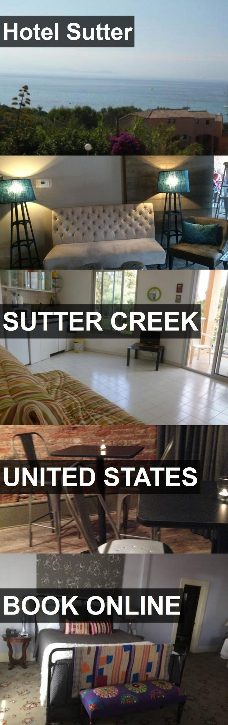 Hotel Sutter in Sutter Creek, United States. For more information, photos, reviews and best prices please follow the link. #UnitedStates #SutterCreek #travel #vacation #hotel