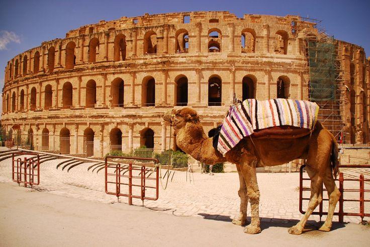 AmphitheatreofEl Jem, Tunisia