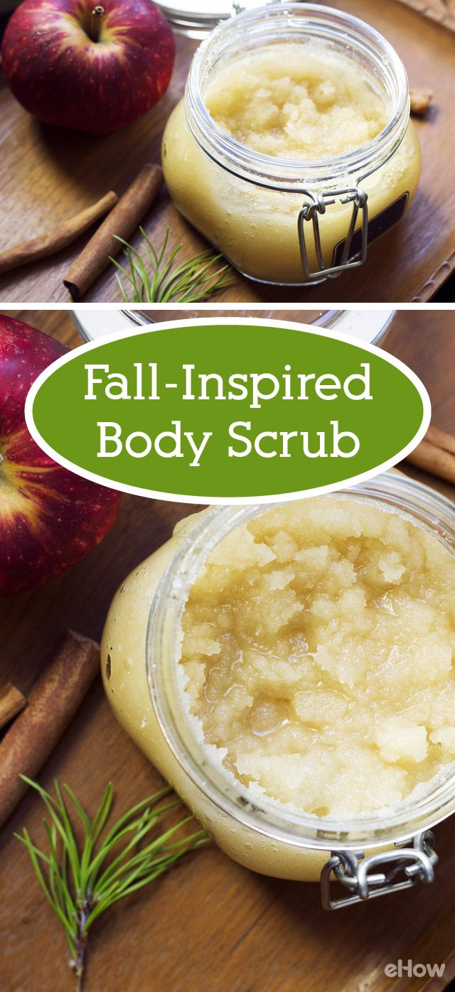 Treat yourself this fall with the perfect body scrub, inspired by (and using!) your favorite fall items. Apples, cinnamon sticks and everything nice.