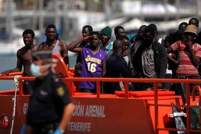 Spain Country rescues 177 migrants off southern coast   Spanish authorities said on Tuesday they had rescued 177 migrants from sub-Saharan Africa on six boats off the southern Mediterranean coast.  Spain's maritime rescue service said it had spotted some of the boats by airplane. It sent ships to carry out the rescues at various points on the country's southern shore including near Malaga. There were eight minors among those rescued it added.  In 2015 3845 migrants entered Spain via sea…