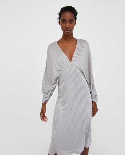 SHINY DRESS-View all-DRESSES-WOMAN   ZARA United Kingdom