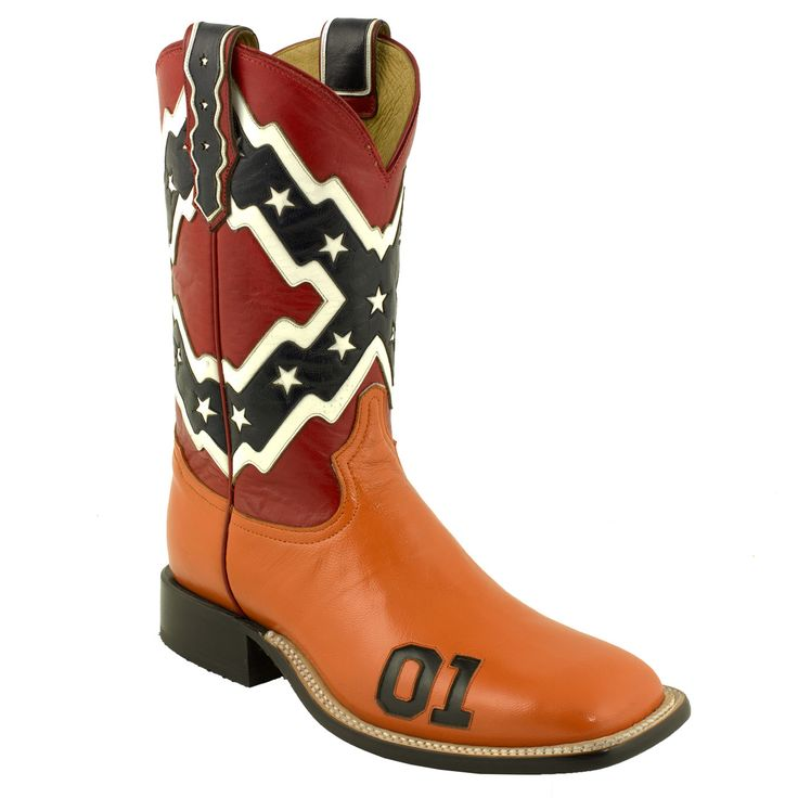 Gallery For gt General Lee Cowboy Boots