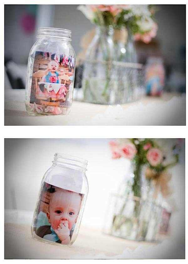 Cookies and Milk Vintage Shabby Chic 1st Birthday Party Planning Ideas