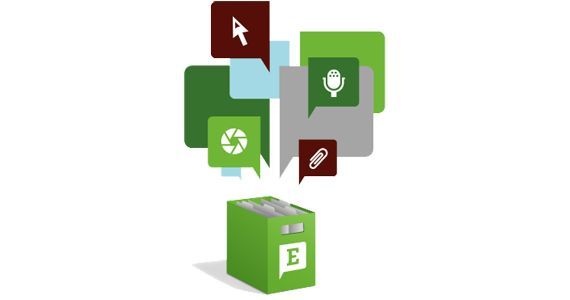 How to Get Your Stuff into Evernote