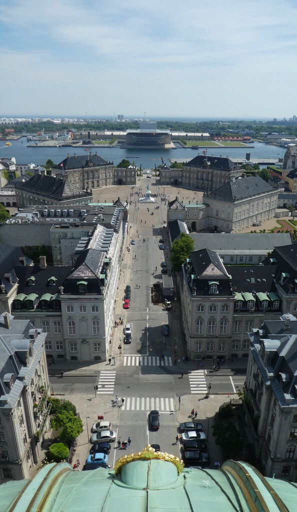 View from Frederiks Church, Copenhagen