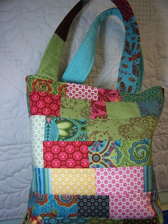 jelly roll quilt patterns | Jelly Roll Bag by D Westerkamp | Quilting Pattern