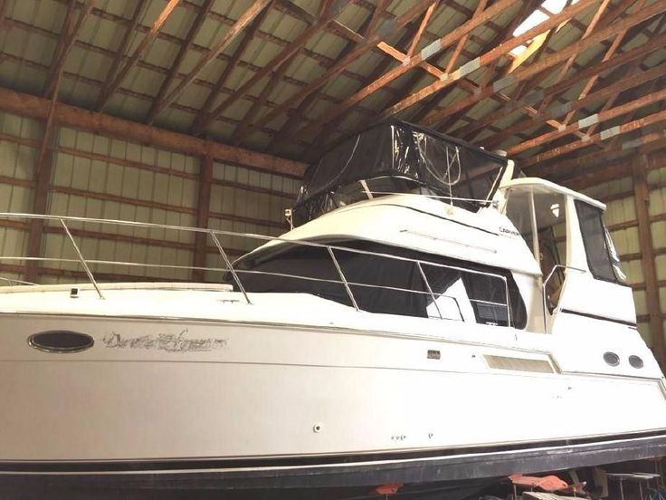 2000 Carver 356 Aft Cabin Motor Yacht Power Boat For Sale -