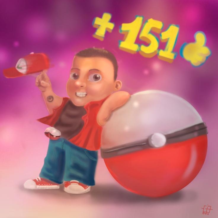 Master Pokemon by *gabrielsilvart on deviantART