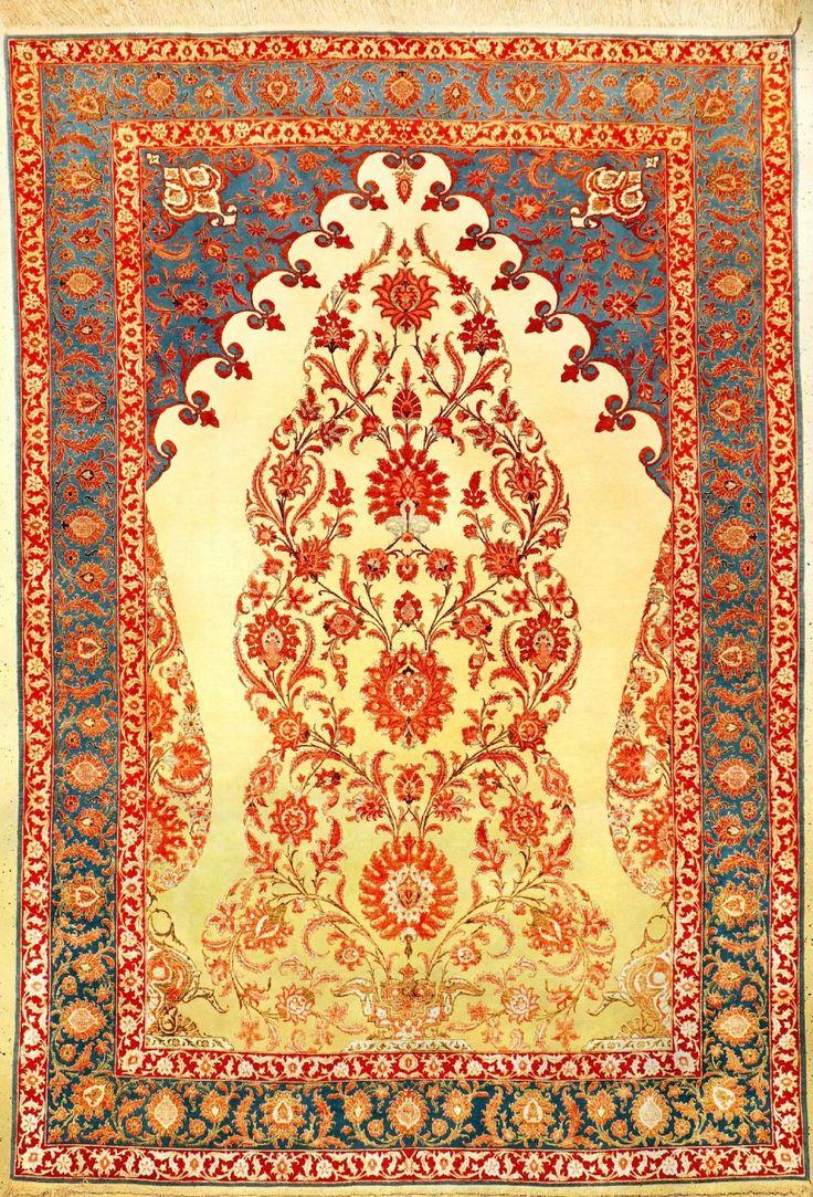 Fine & Unique Tehran 'Part-Silk' Carpet (V…