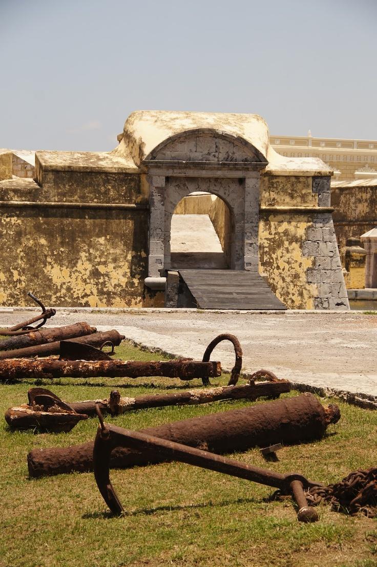 San Juan de Ulúa, Veracruz, Mexico.  Photo: FotoMiMéxico