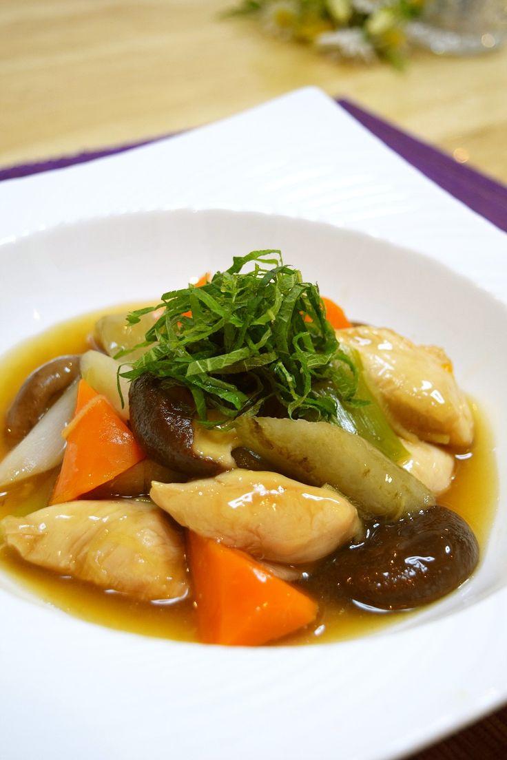 ゴロゴロ野菜とささみの治部煮風♪ by santababy [クックパッド] 簡単おいしいみんなのレシピが226万品