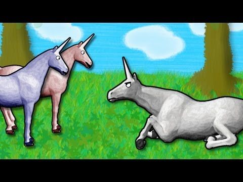 Charlie the Unicorn - I want to go to Candy Mountain!!!  Shun the non-believer. Demented humor...love it!