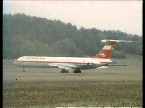 """In October 1989, Interflug's pilot Capt. Heinz-Dieter Kallbach performed a planned landing of  Ilyushin Il-62 """"Lady Agnes"""" (DDR-SEG) airliner on an uneven, 860m long grass strip surrounded by forest nearby Stölln, East Germany. Undamaged aircraft was subsequently turned into a museum of flight dedicated to Otto Lilienthal and it also serves as a civil registry office..."""