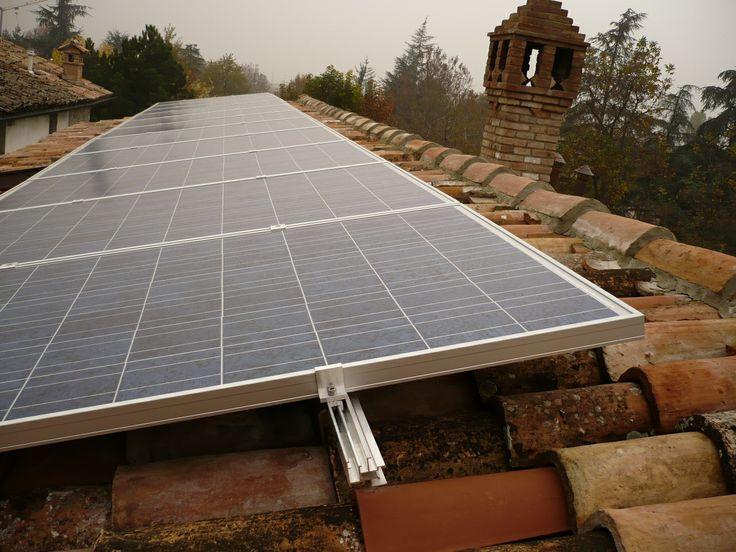 2 kW residential solar. Italy 2009