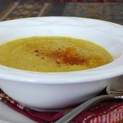Spicy parsnip soup @ allrecipes.co.uk