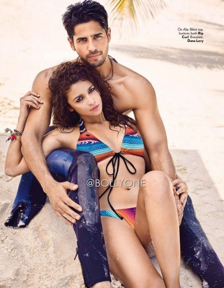 Alia Bhatt and Sidharth HQ Pics from Vogue Magazine March 2016