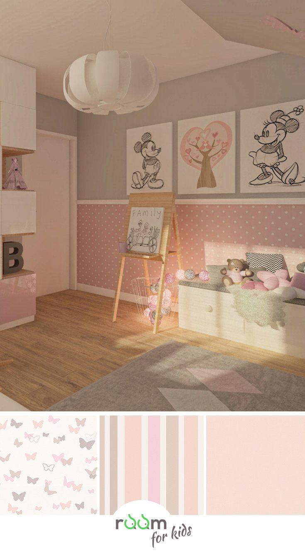 Deko-Tipp Kinderzimmer Wände mit Schmetterlingen selbst gestalten
