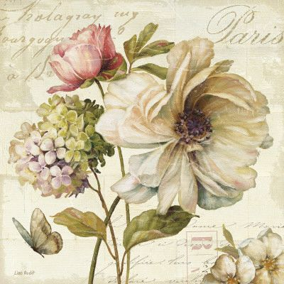 Marche de Fleurs II Kunstdruck