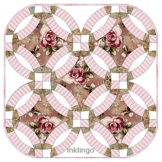 30 best Double Wedding Ring Quilt Designs images on Pinterest