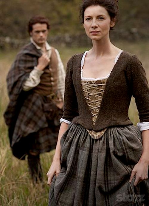 Let's just impose me in there instead of the actress that plays Claire. I'm clearly more suited for the role.....