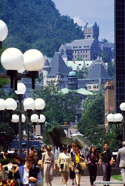 Scheming a Montreal adventure before the weather gets too cold #travel