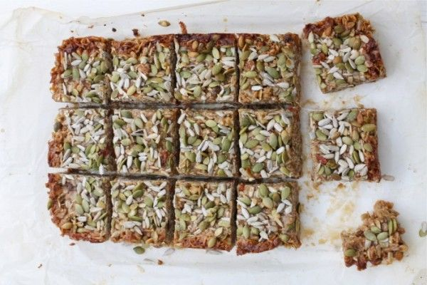 Sugar-Free Granola Bars via @iquitsugar