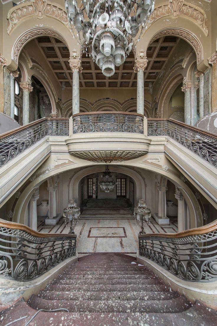 Abandoned & Beautiful ~ The Constanta Casino   HonestlyWTF