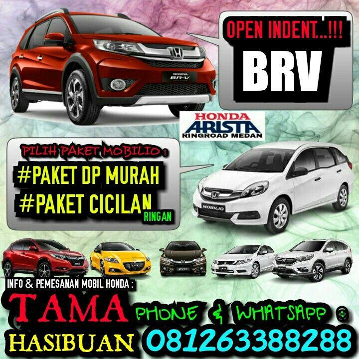 OPEN INDENT BRV..!! PAKET DP MURAH & PAKET CICILAN RINGAN HONDA MOBILIO (all type).  Info & Pemesanan MOBIL HONDA (all type) :  Hadlinsyah Pratama Hasibuan (HP) [TAMA HASIBUAN] Automotive consultant & Marketing Honda Arista Ringroad Medan Phone/Whatsapp : 0812-6338-8288 BBM : 59903594 Line : tamahasibuan