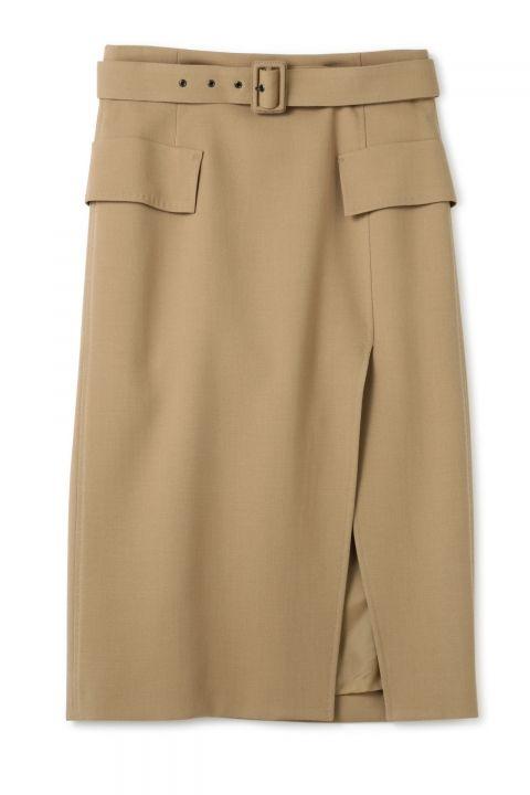 スポンディッシュウール<BKL>タイトスカート   スカート   ADORE   MIX.Tokyo