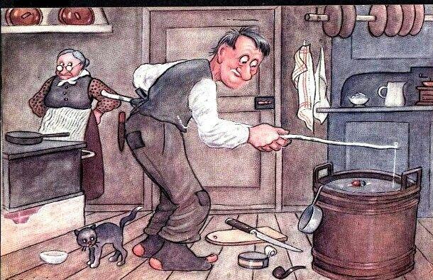 Humorkort Jac. Edgren - Optimisten Utg Mittet