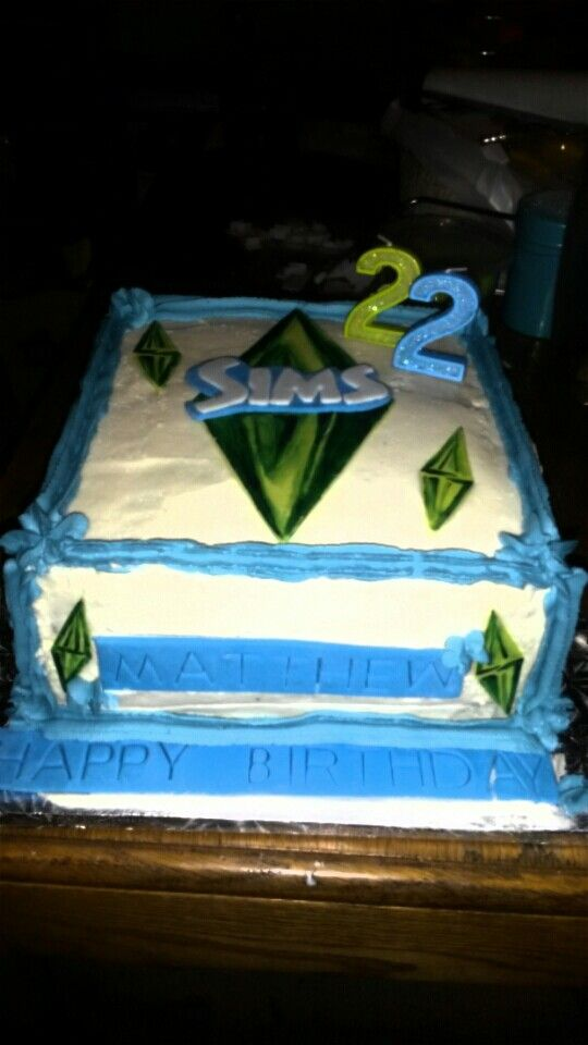 Brothers sims cake