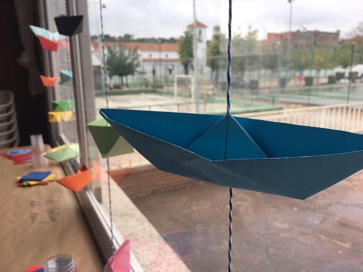 Barco de paper - banderola