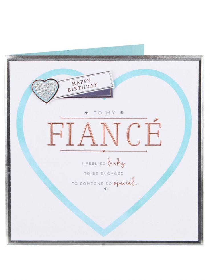 My Special Fiance Birthday Card - Birthday Cards - Cards | Clintons