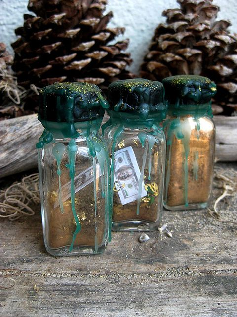 The witch bottle is a very old spell device which dates back hundreds of years to around the 1500's. Rita's Witch-bottles are built to recharge themselves by the energy they 'capture' for as long as the bottle stays unbroken, whether it be years or c
